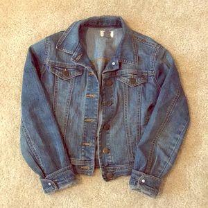 Girls jean jacket 10/12